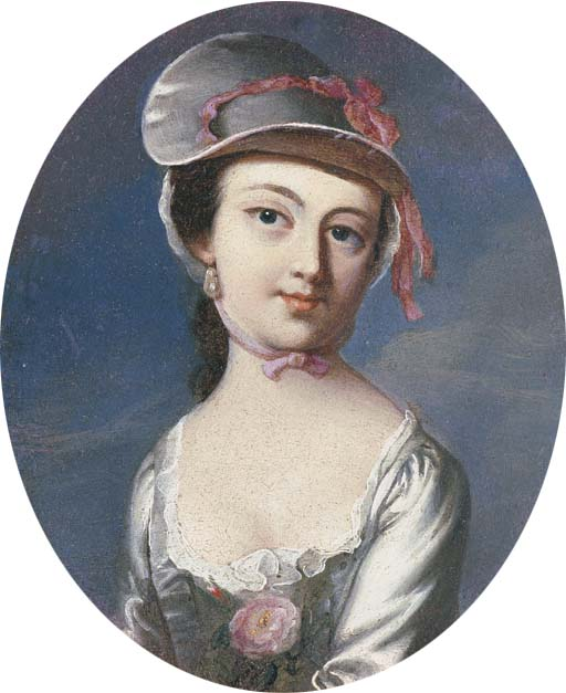 Mar 23 - Copley Portrait of Mary Clarke