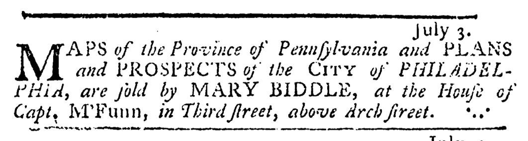 Jul 17 - 7:17:1766 Pennsylvania Journal
