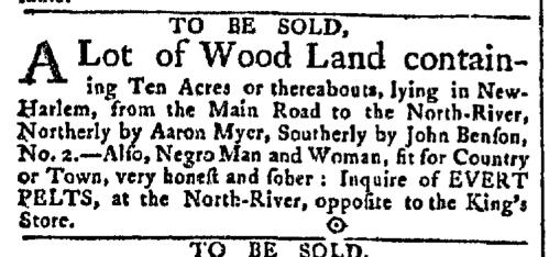 Apr 6 - New-York Gazette Slavery 2