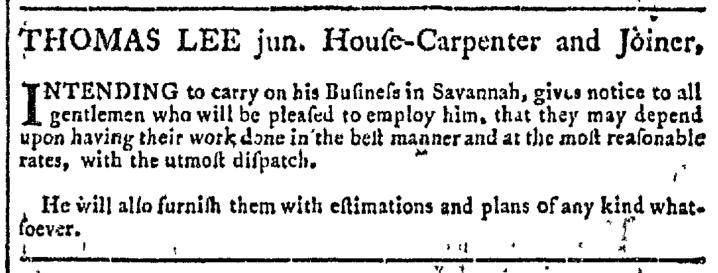 Mar 11 - 3:11:1767 Georgia Gazette