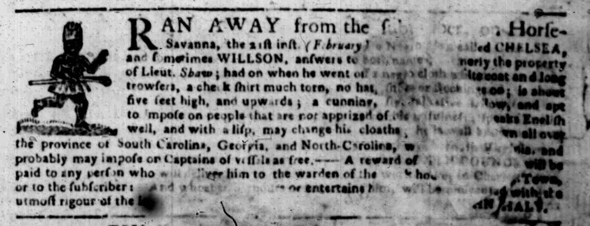 Mar 16 - South Carolina Gazette Slavery 6