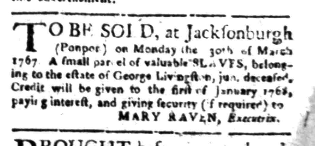 Mar 23 - South Carolina Gazette Slavery 11