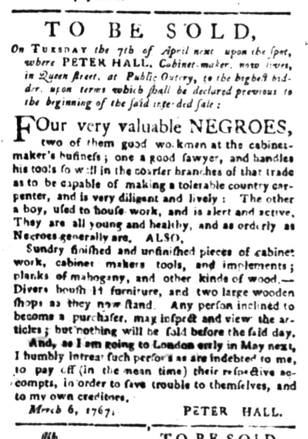 Mar 23 - South Carolina Gazette Slavery 9