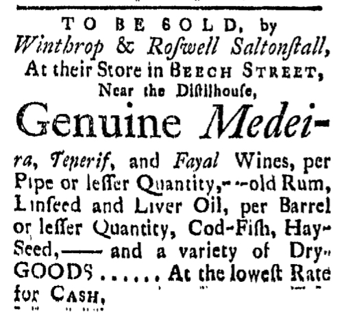 Mar 27 - 3:27:1767 Connecticut Gazette