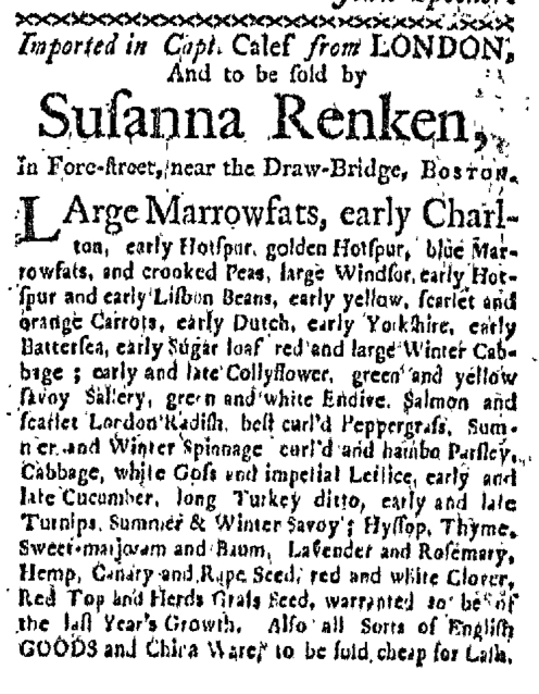 Mar 9 - 3:9:1767 Boston-Gazette