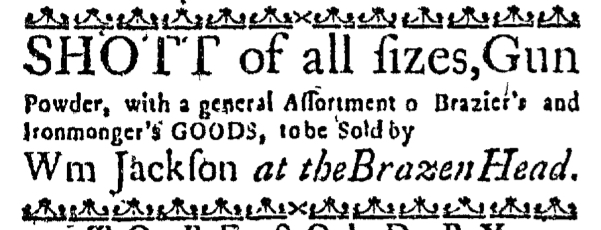 Apr 10 - 4:10: 1767 Massachusetts Gazette