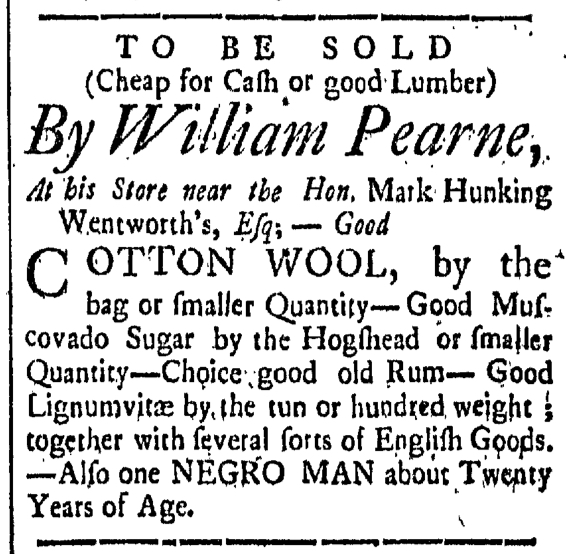 Apr 10 - New-Hampshire Gazette Slavery 2