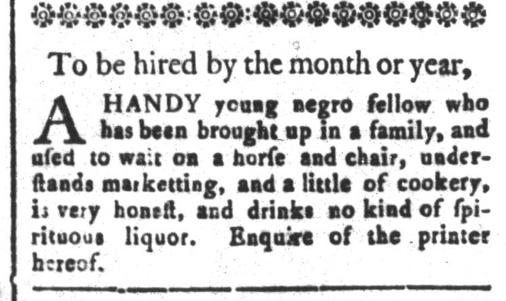 Apr 10 - South-Carolina and American General Gazette Slavery 5