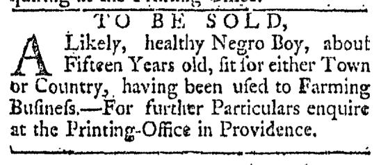 Apr 11 - 4:11:1767 Providence Gazette