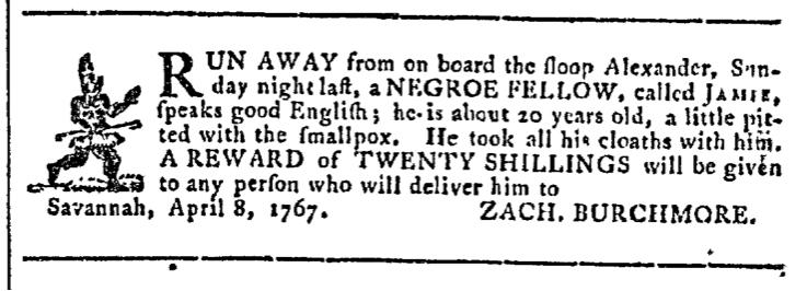Apr 15 - Georgia Gazette Slavery 2