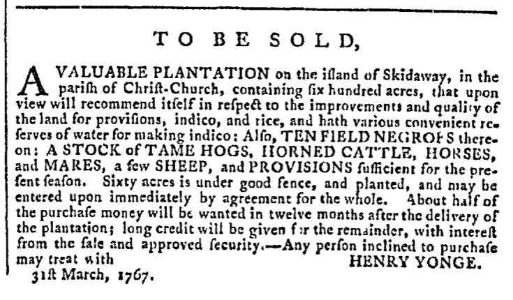 Apr 15 - Georgia Gazette Slavery 3