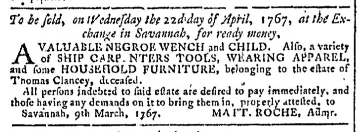 Apr 15 - Georgia Gazette Slavery 4