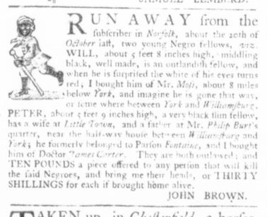 Apr 16 - Virginia Gazette Slavery 3