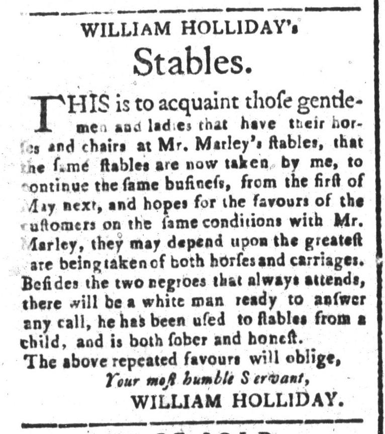 Apr 17 - South-Carolina and American General Gazette Slavery 5