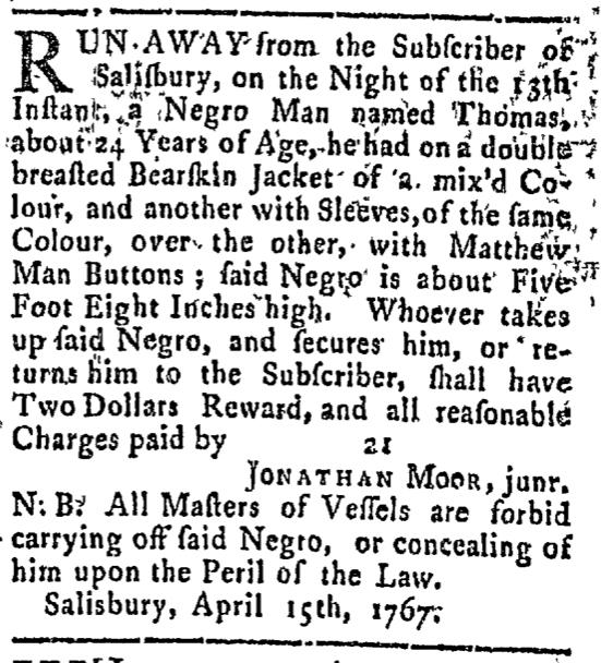 Apr 20 - Connecticut Courant Slavery 1