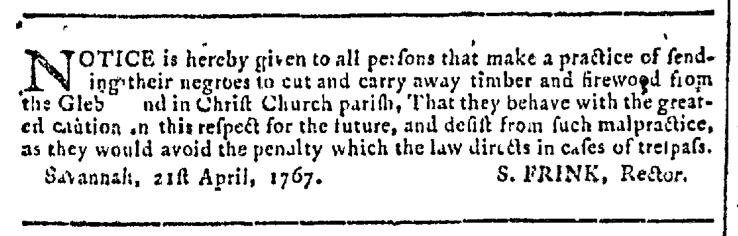 Apr 29 - Georgia Gazette Slavery 3