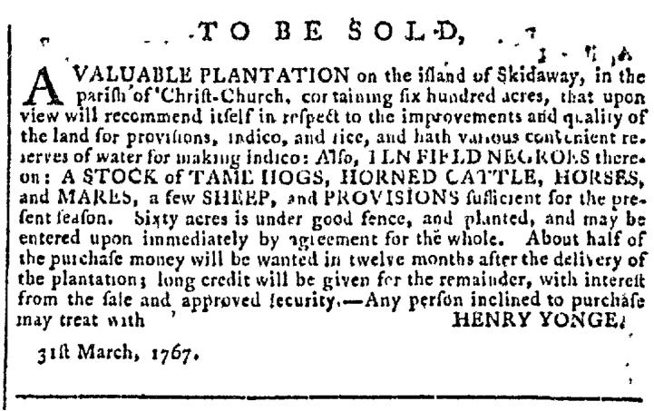 Apr 29 - Georgia Gazette Slavery 6