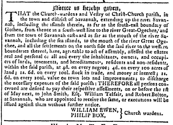 Apr 29 - Georgia Gazette Slavery 8