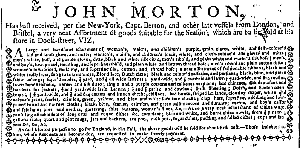 Jun 1 - 6:1:1767 New-York Gazette
