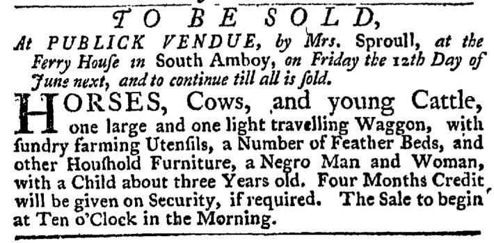Jun 4 - New-York Gazette Weekly Post-Boy Slavery 1