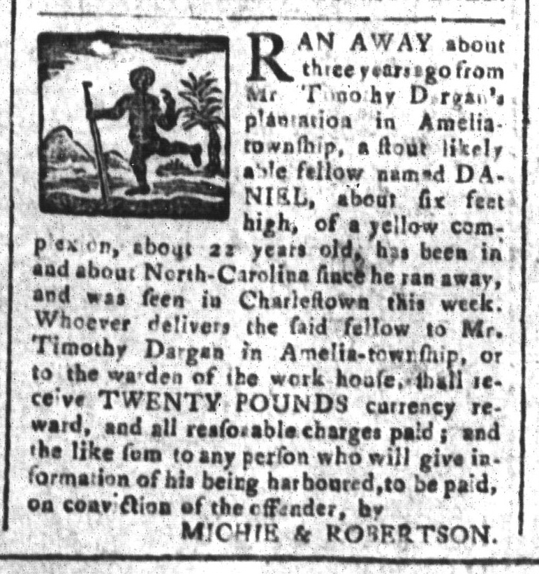 May 1 - South-Carolina and American General Gazette Slavery 8