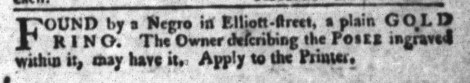 May 12 - South-Carolina Gazette and Country Journal Slavery 3