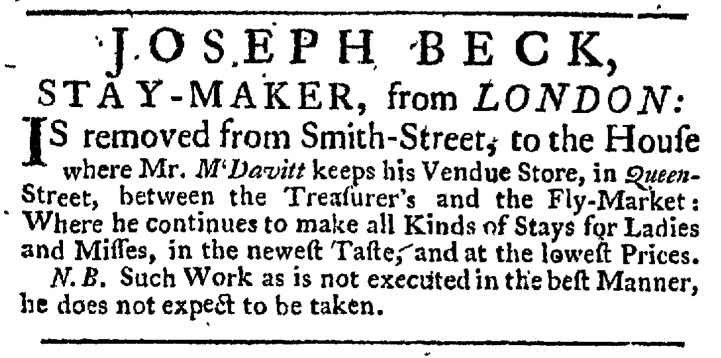 May 21 - 5:21:1767 New-York Gazette Weekly Post-Boy