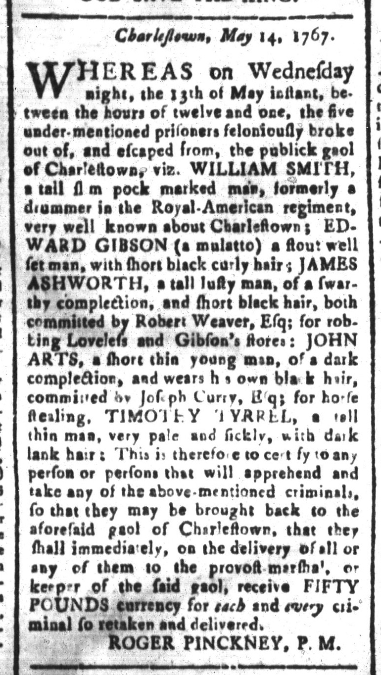 May 22 - South-Carolina and American General Gazette Slavery 8