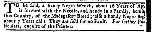 May 25 - New-York Mercury Slavery 9