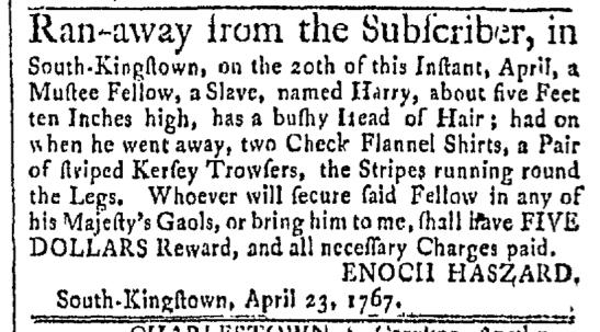 May 4 - Newport Mercury Slavery 1