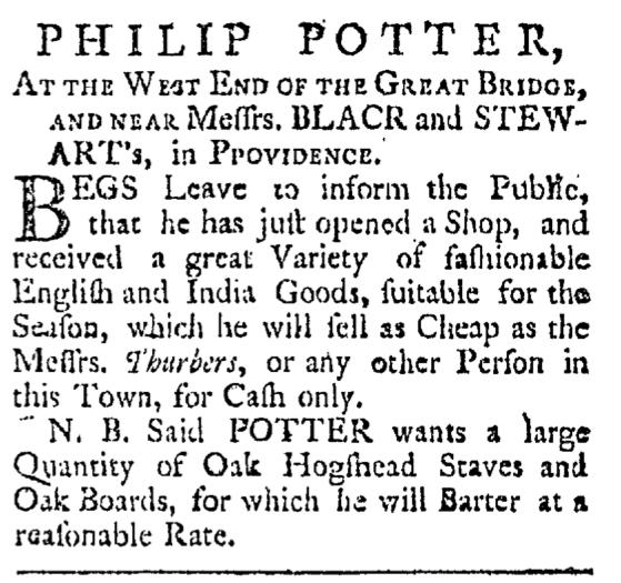 Jul 18 - 7:18:1767 Providence Gazette