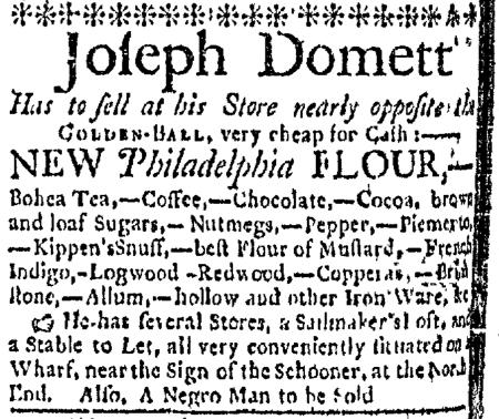 Jul 20 - Boston Evening-Post Slavery 2