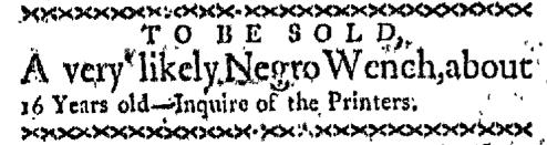Jul 20 - Boston-Gazette Slavery 1