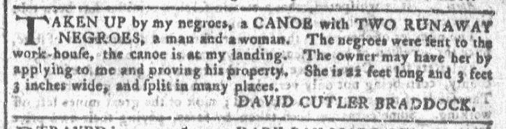 Jul 22 - Georgia Gazette Slavery 4