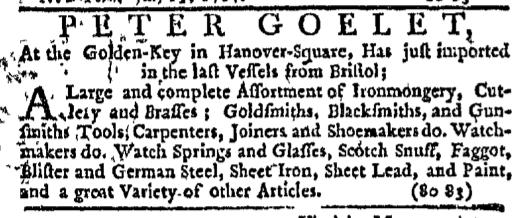 Jul 23 - 7:23:1767 New-York Journal