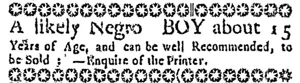 Jun 11 - Massachusetts Gazette Slavery 2
