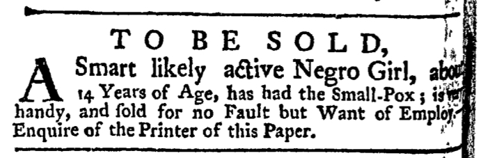 Jun 11 - New-York Gazette Weekly Post-Boy Slavery 2