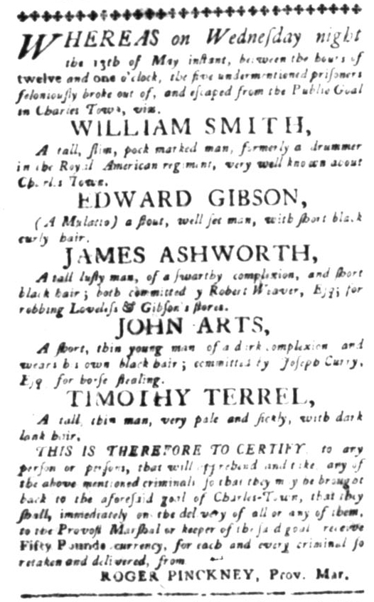 Jun 15 - South Carolina Gazette Slavery 3