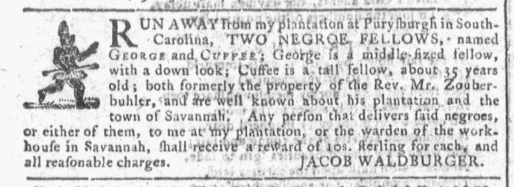 Jun 17 - Georgia Gazette Slavery 4