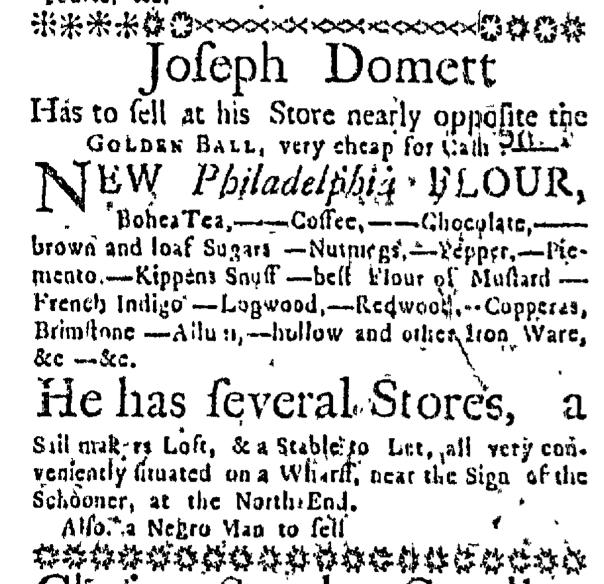 Jun 18 - Massachusetts Gazette Slavery 2