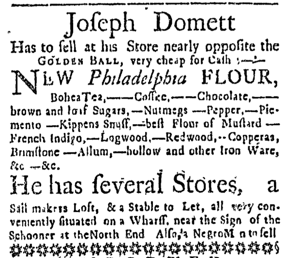 Jun 25 - Massachusetts Gazette Slavery 1