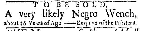 Jun 29 - Boston Evening-Post Slavery 1