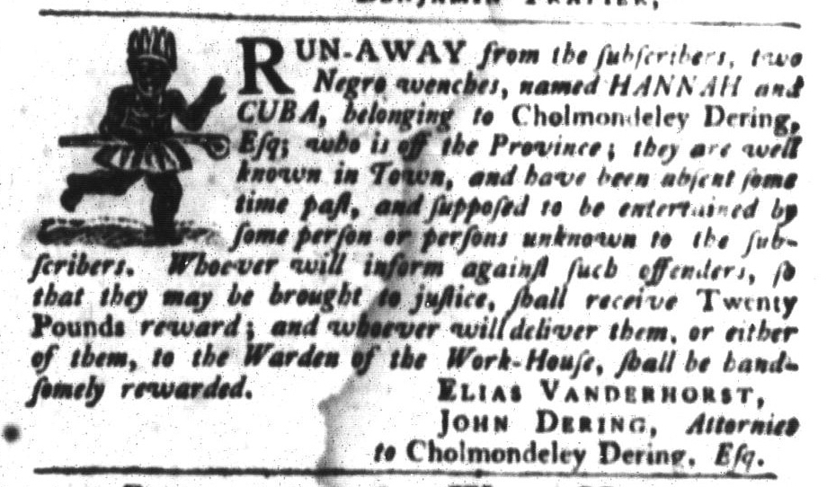 Jun 30 - South-Carolina Gazette and Country Journal Slavery 5