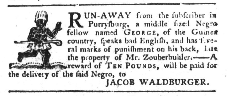 Aug 4 - South-Carolina Gazette and Country Journal Supplement Slavery 9