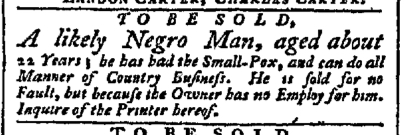 Jul 27 - Pennsylvania Chronicle Slavery 1