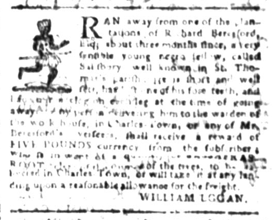 Jul 27 - South Carolina Gazette Slavery 5