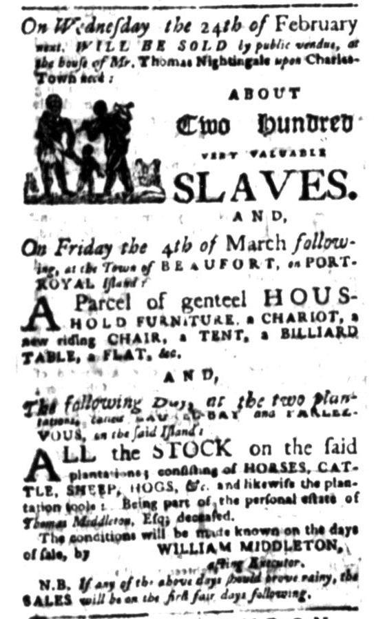 Jul 27 - South Carolina Gazette Slavery 6