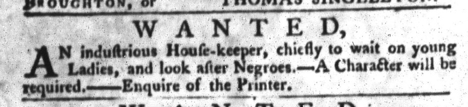 Jul 28 - South-Carolina Gazette and Country Journal Slavery 7