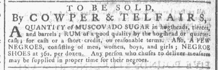 Jul 29 - Georgia Gazette Slavery 3