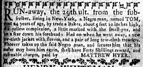 Aug 17 - New-York Mercury Supplement Slavery 1